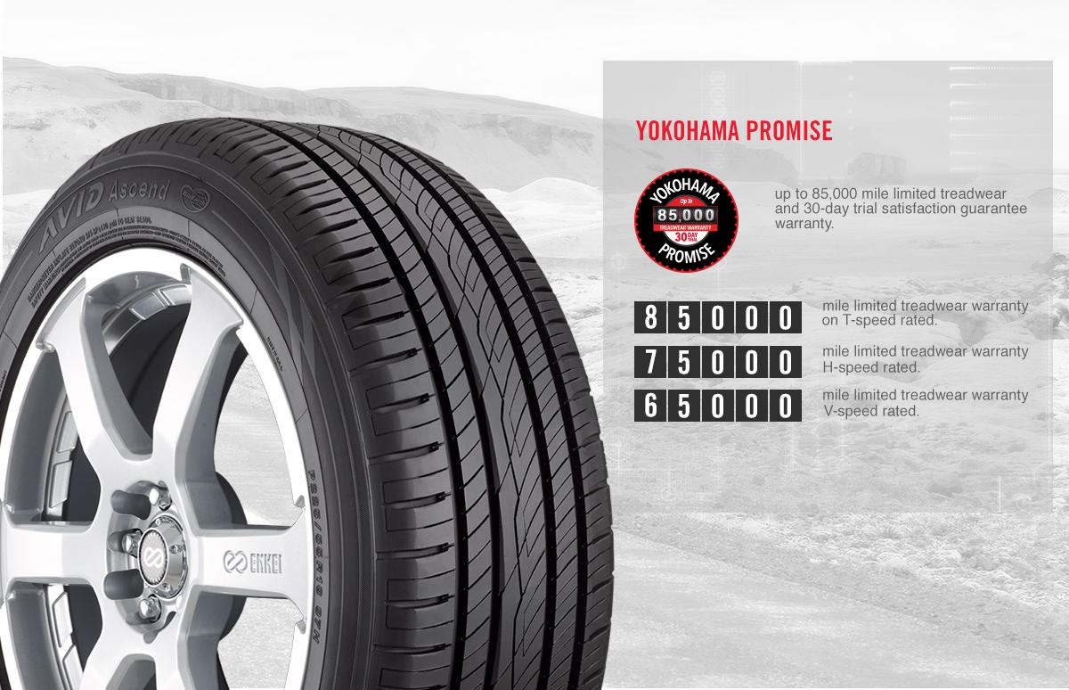 Avid Ascend Avid Ascend All Season Touring Tire Yokohama Tire