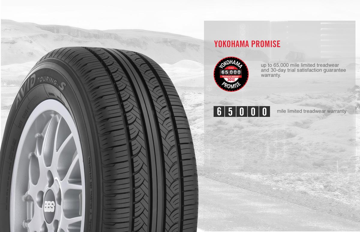 215//60R16 94T Yokohama Avid Touring S All-Season Tire