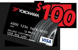 Buy A Set Of Four Select Yokohama Tires Receive Up To 100