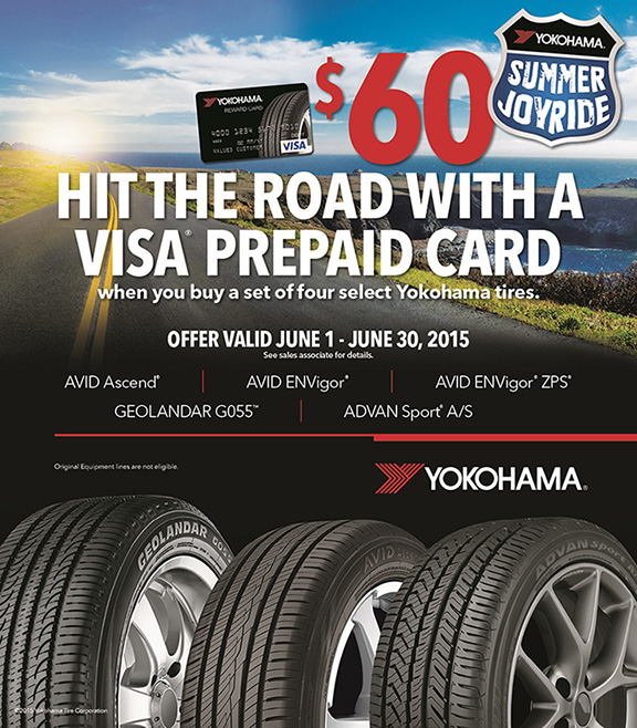 Take a 'Summer Joyride' with Yokohama Tire Corporation