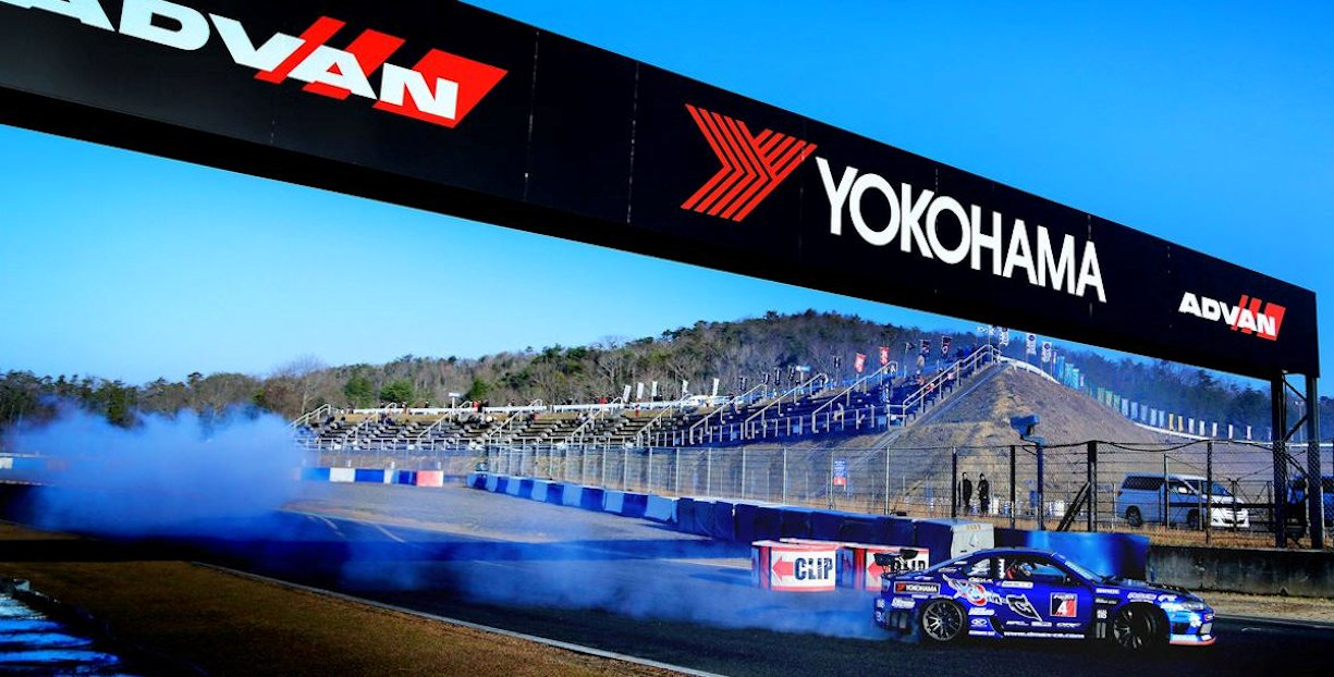 Yokohama Tire Corporation Goes Drifting for Fourth Consecutive Season