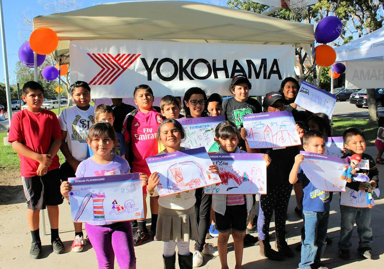 Play Time: Yokohama Tire Corporation and KaBOOM! Announce April 22 as Playground Build Date