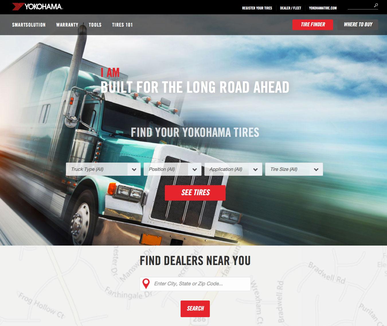 Yokohama Tire Corporation Unveils YokohamaTruck.com