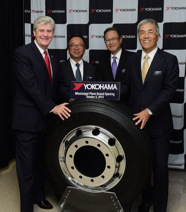 Yokohama Officially Opens New $300 Million Commercial Tire Plant in Mississippi