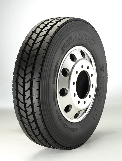 Yokohama Tire Corporation Announces Three New Sizes for the TY527<sup>&trade;</sup> Premium Drive Tire