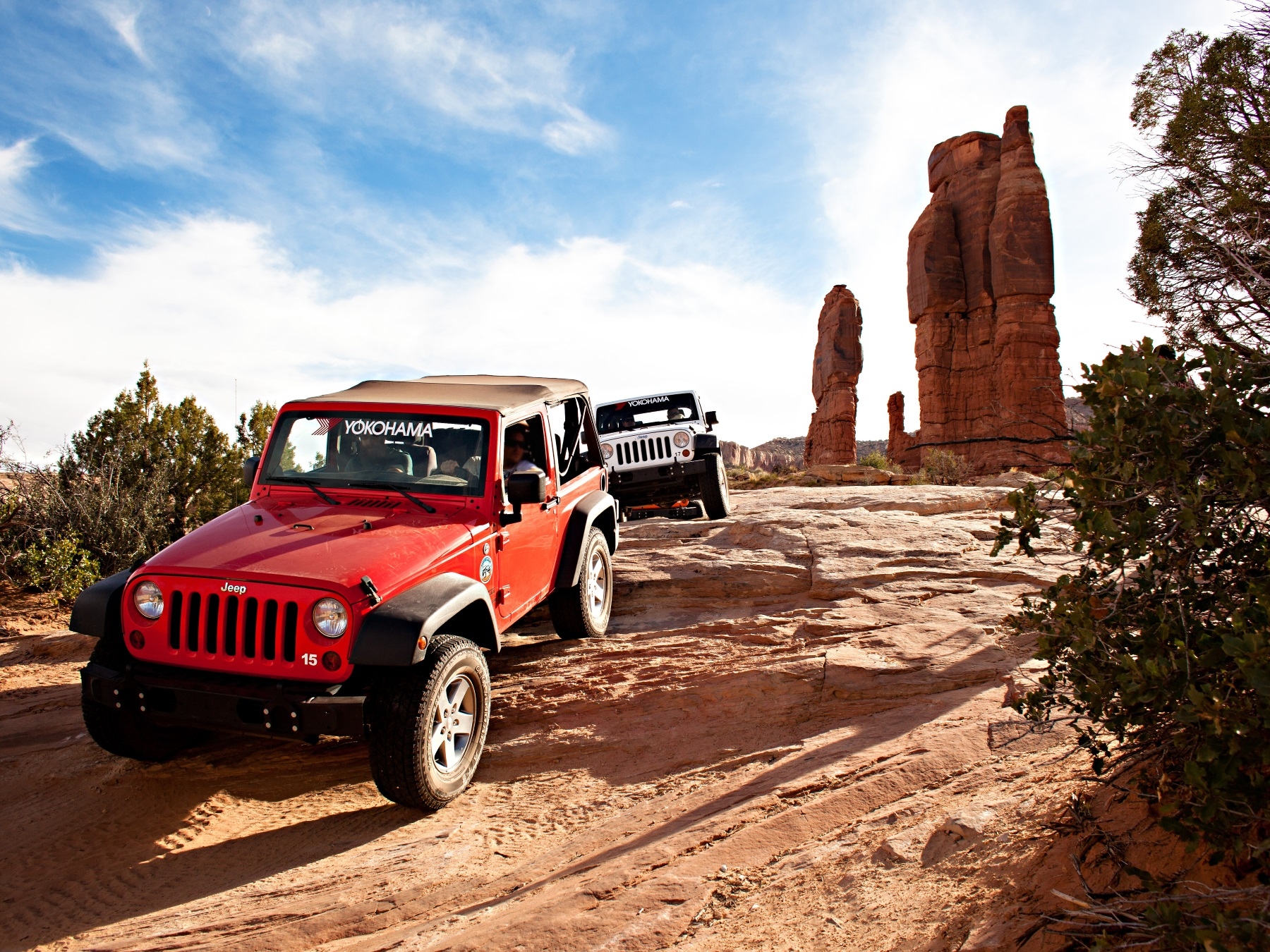 Yokohama Tire Corporation Hits the Trail as a Sponsor of Easter Jeep Safari Week's 50th Anniversary