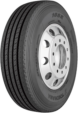 Yokohama Tire Corporation Launches New 108R™ Regional All-position/Steer Tire