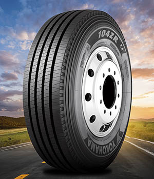 "Yokohama Tire Corporation Announces New 104ZR™ 19.5"" Size Line-up for Urban/Regional All-Position Steer Tire Operations"