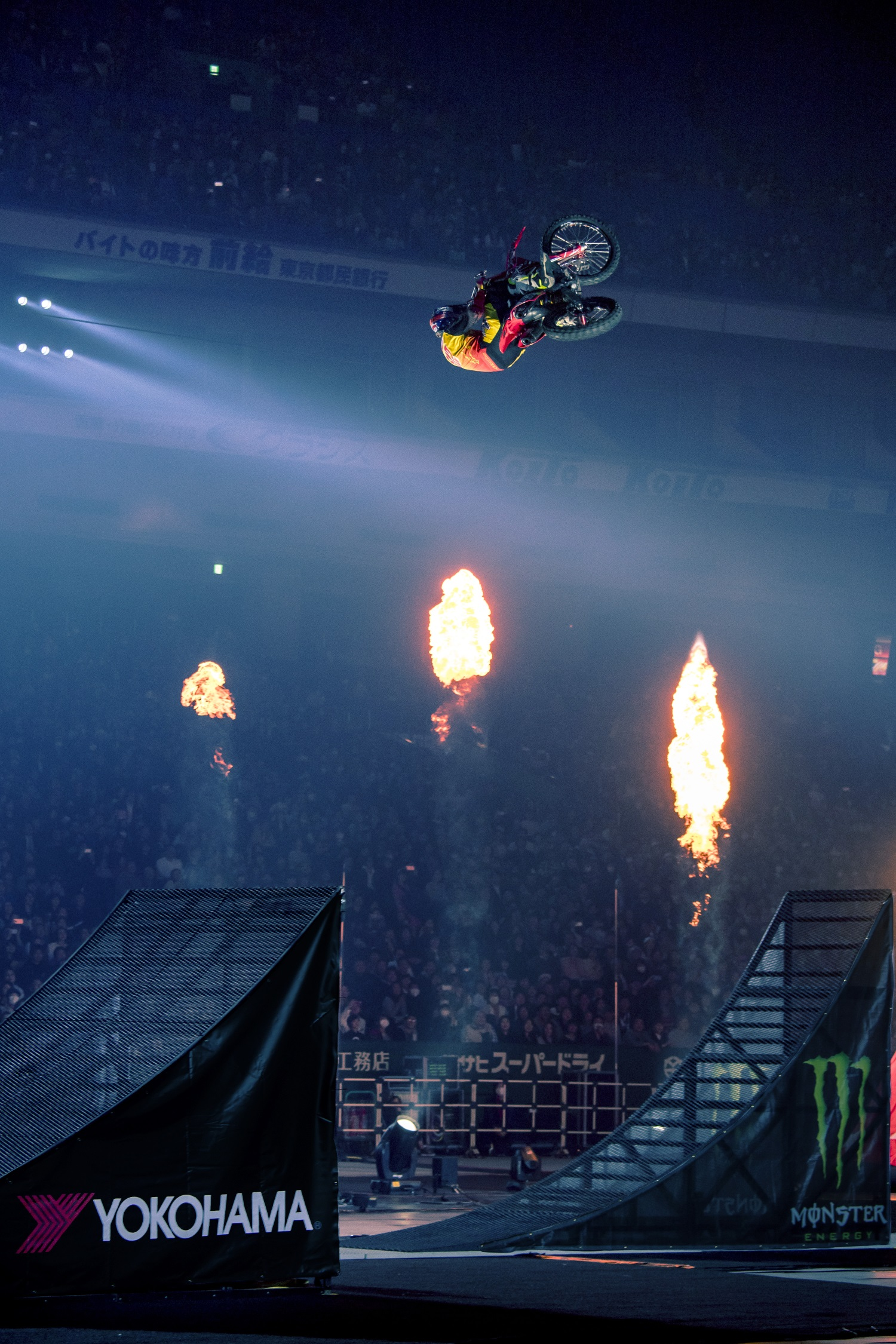 Yokohama is Pumped as Exclusive Tire of the Nitro Circus Live US Tour