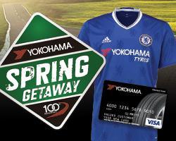Yokohama's 'Spring Getaway' Promotion; Redeem by June 30th.
