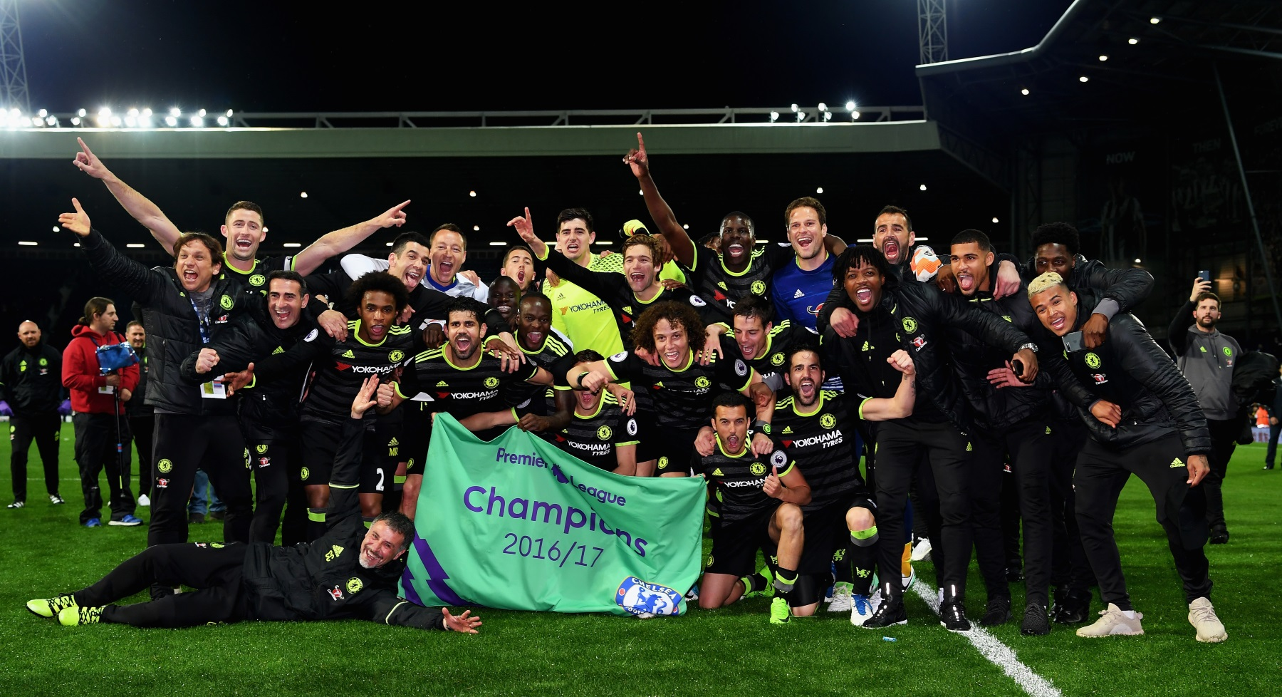 Yokohama-Sponsored Chelsea FC Clinches English Premier League Championship