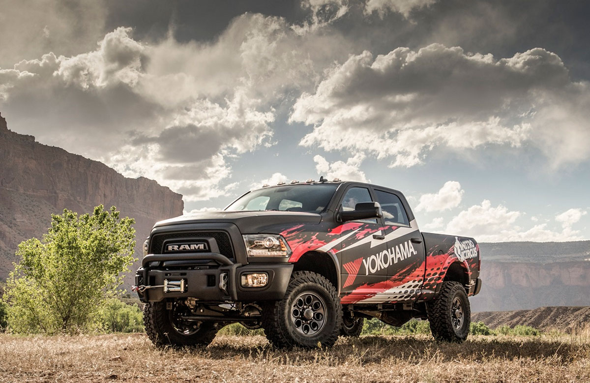 Yokohama to Giveaway Cool, Custom 2017 Ram 2500 Power Wagon during Yokohama Nitro Circus 'Get Trucked Up' Sweepstakes