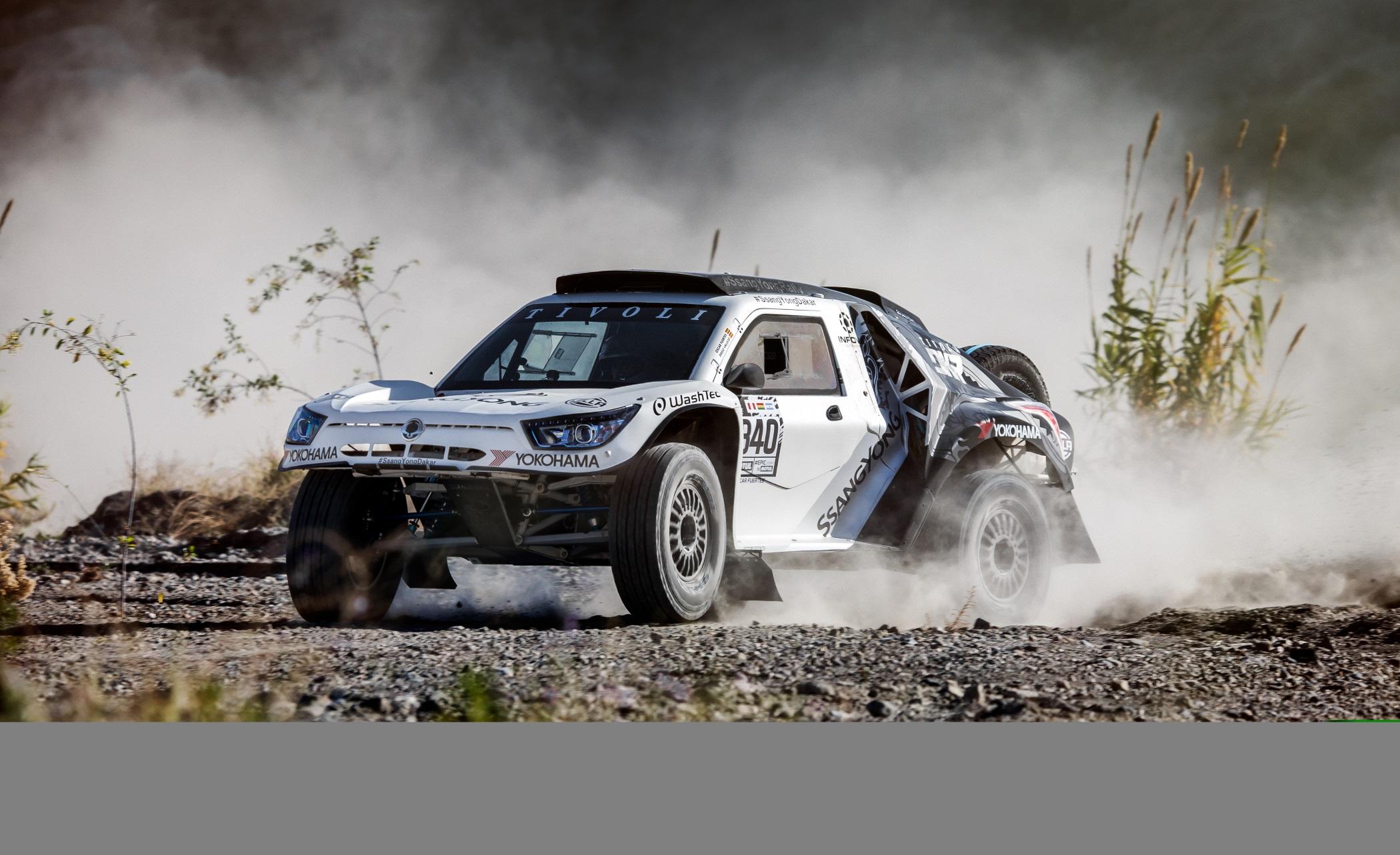 Yokohama Tire Sponsoring Team In 2018 Dakar Rally