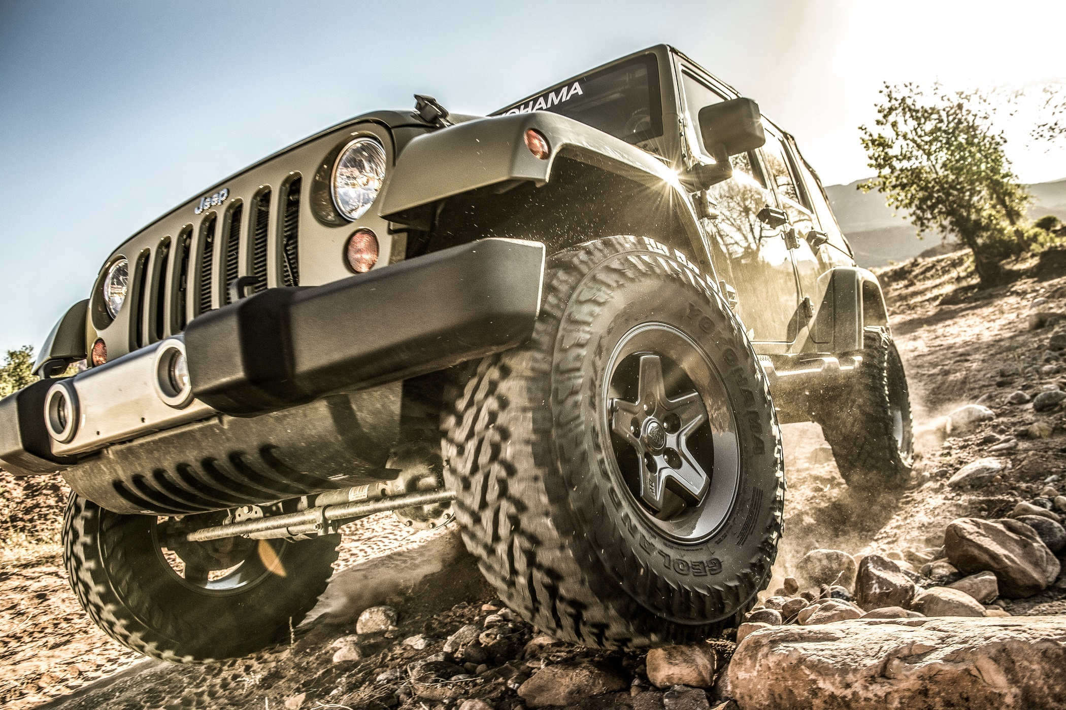 Yokohama Goes Off-Roading as Sponsor of Easter Jeep Safari Week