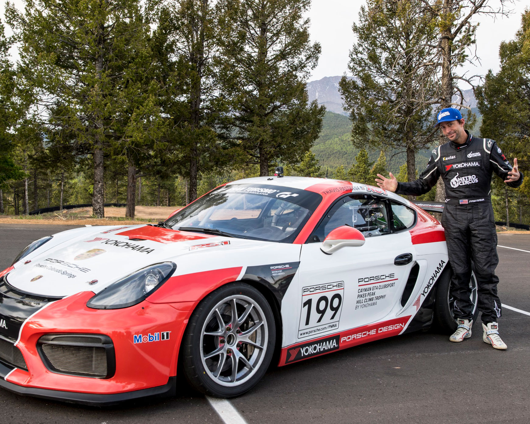 Yokohama Tire and Travis Pastrana Ready to Take on the Mountain in New Porsche Pikes Peak Class