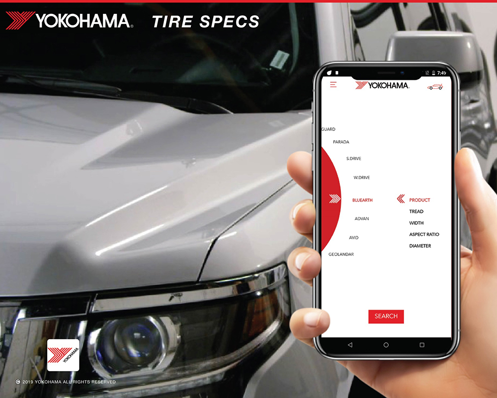 Yokohama Tire's Mobile Tire Specs App for Dealers Wins iF Design Award
