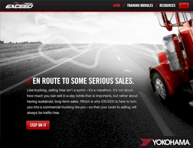 Yokohama Tire Corporation to Debut Commercial EXCEED<sup>®</sup> Training Program March 27 at Mid-America Trucking Show