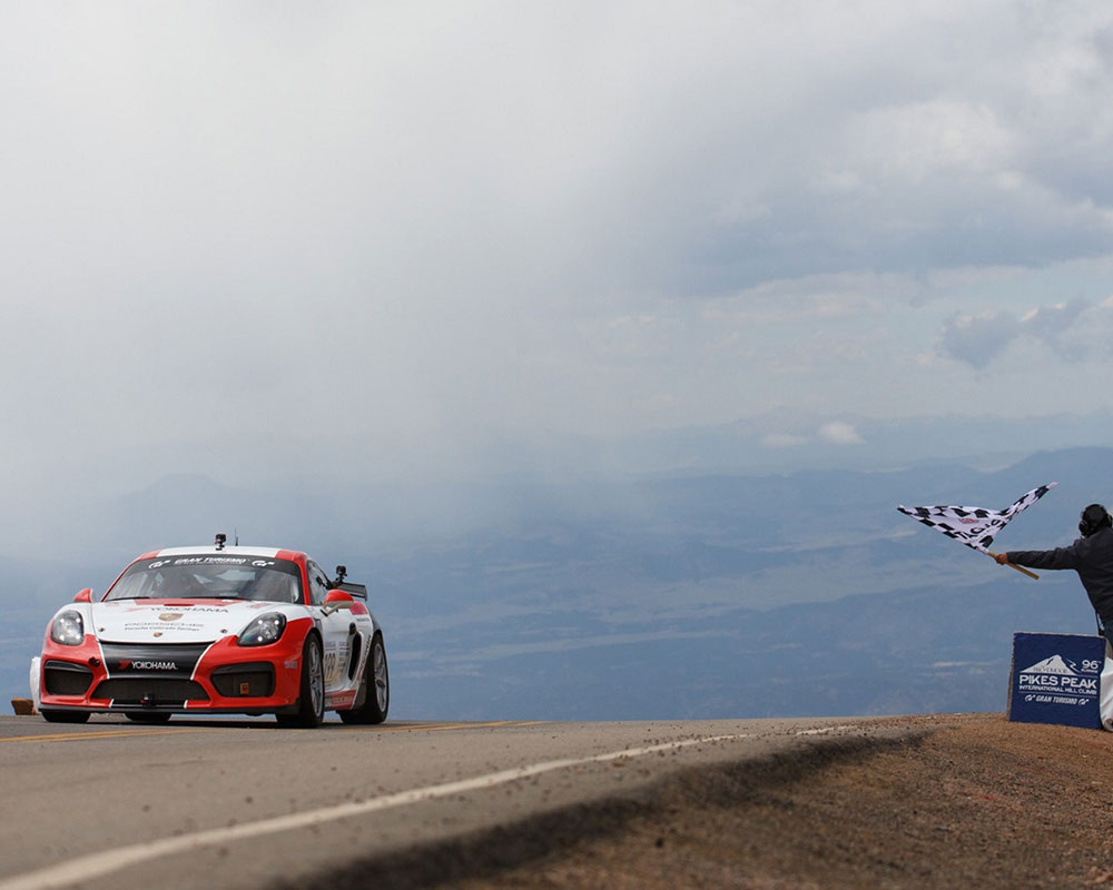 Yokohama Tire is Back at the 'Race to Clouds' as Sponsor and Exclusive Tire Provider for the Porsche Pikes Peak Division