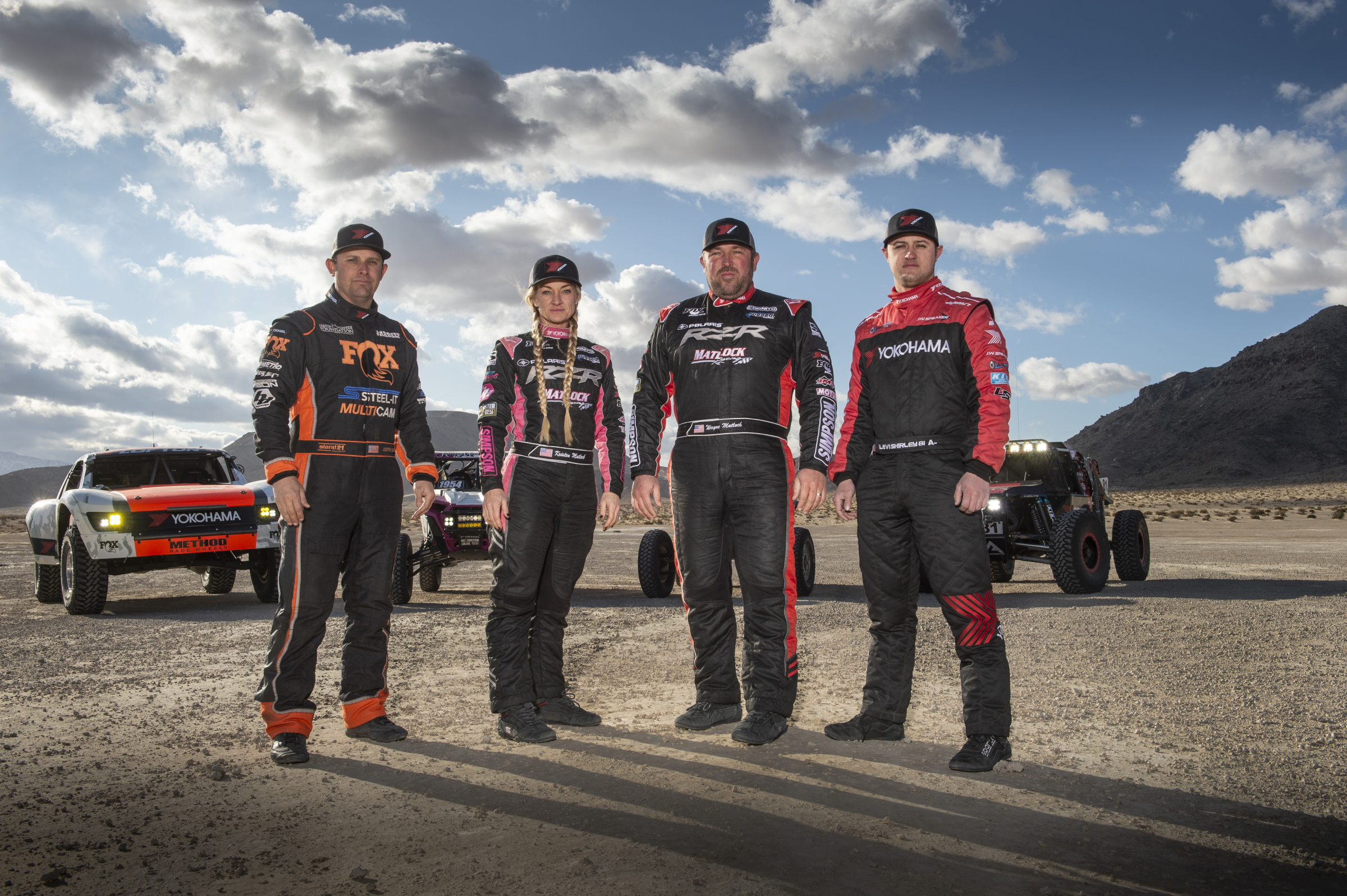 Yokohama Tire Names Two New  Off-road Drivers for the 2020 Season