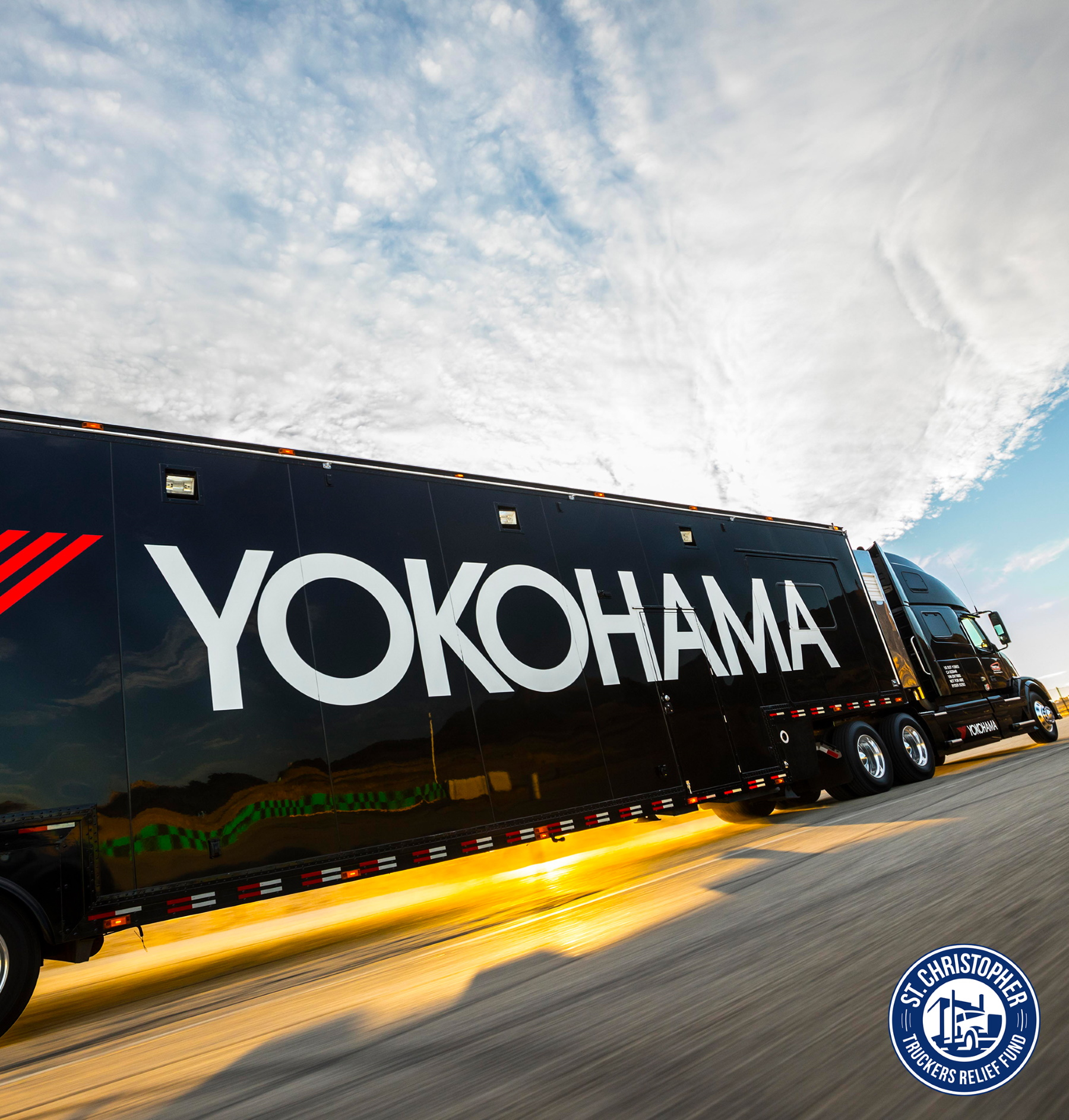 Yokohama Tire Partnering with St. Christopher  Truckers Development and Relief Fund