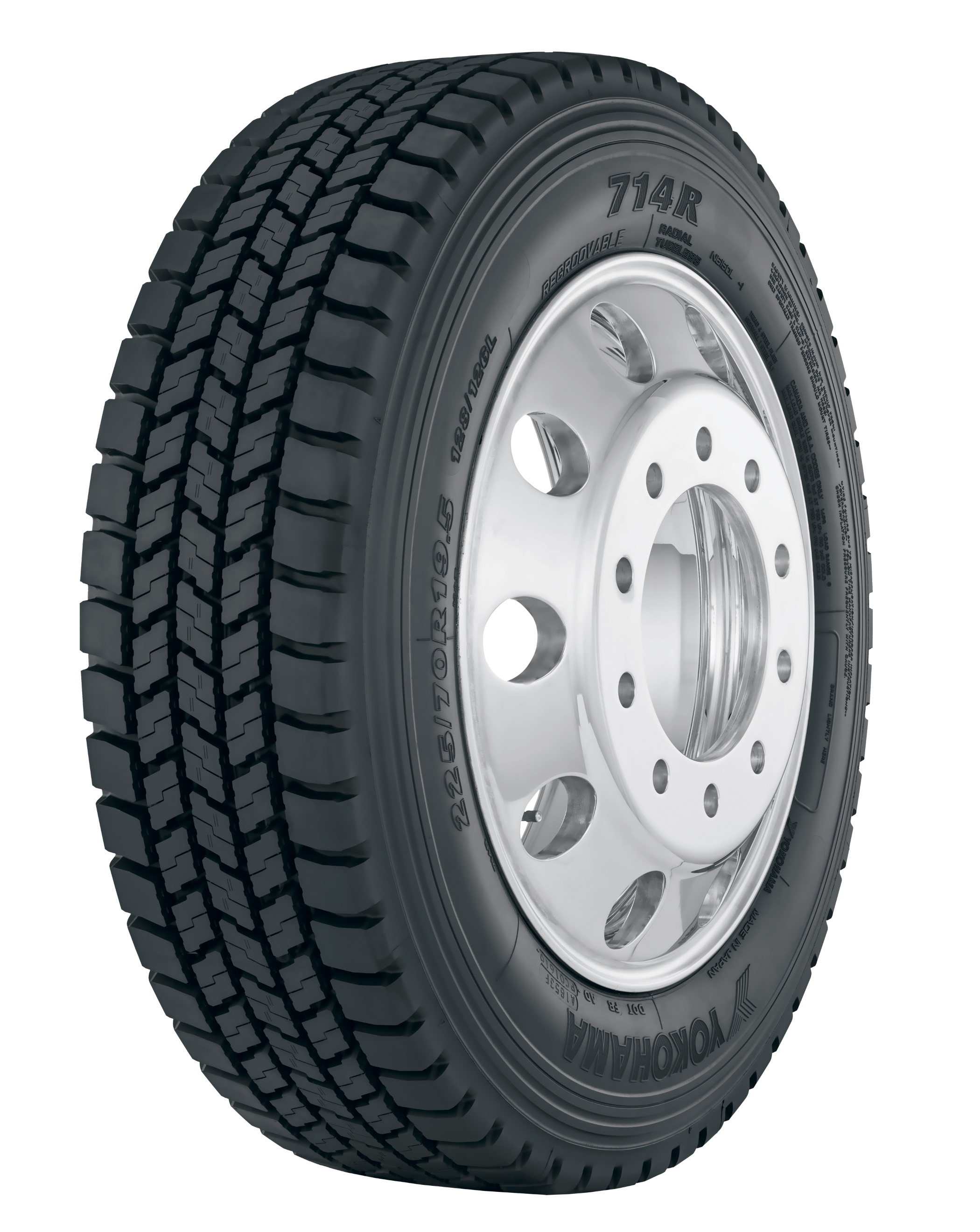 Yokohama Tire's New 714R™ Regional  Pickup/Delivery Tire Now on Sale
