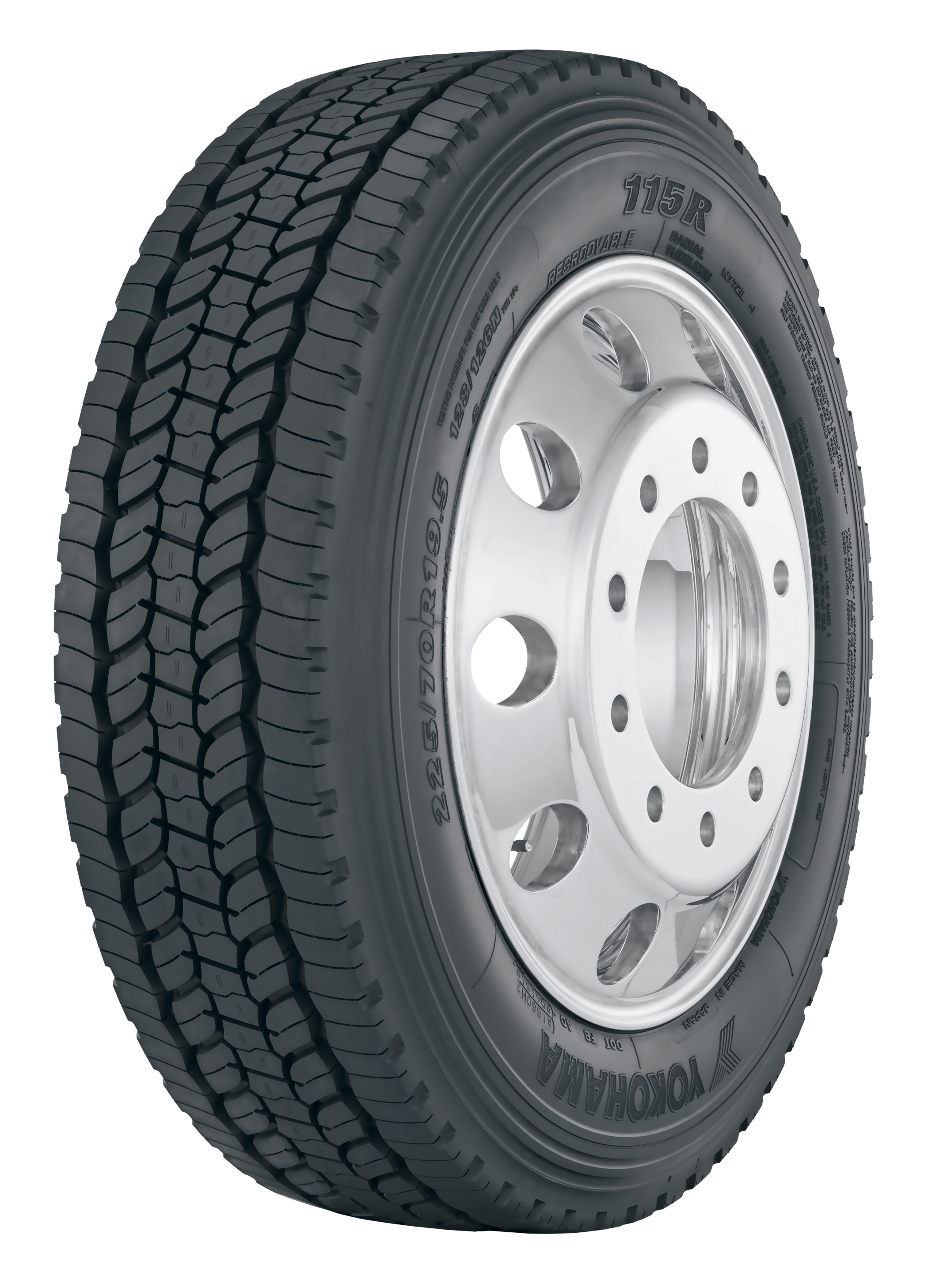 Yokohama Tire's New 115R™ All-position  Tire Delivers All-season Performance