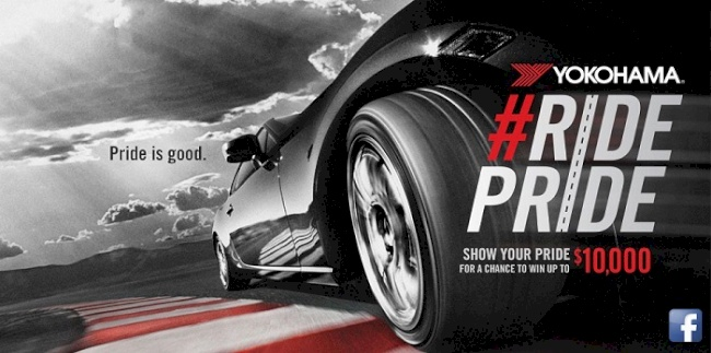 Yokohama Tire Corporation's #RidePride Facebook Contest Rewards Cash to the Hottest Ride