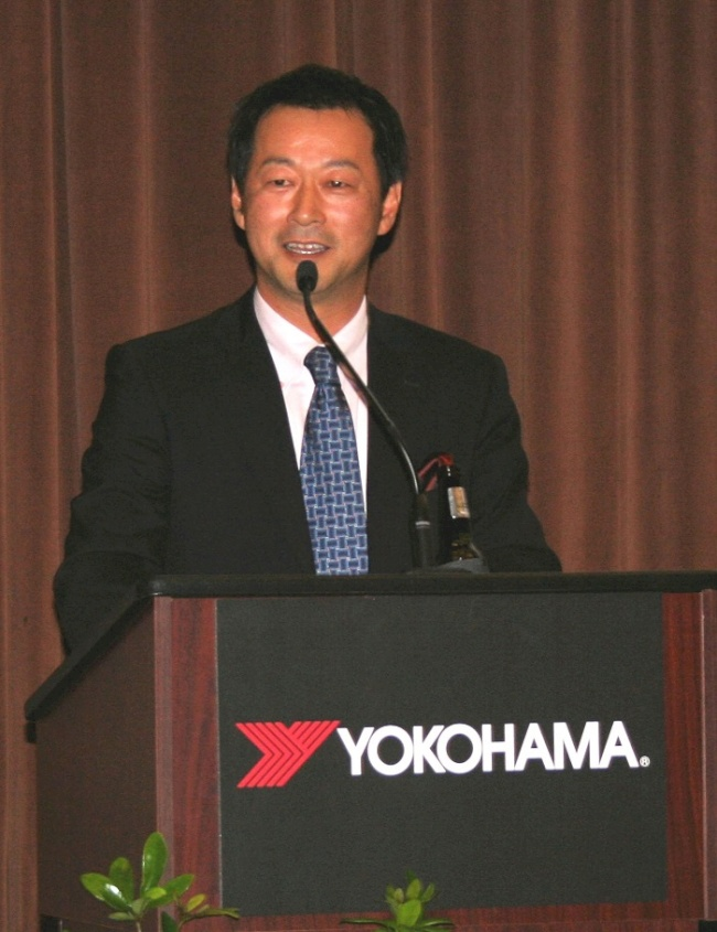 2013 Review and 2014 Outlook with  Takayuki Hamaya, Yokohama Tire Corporation's  Chief Operating Officer