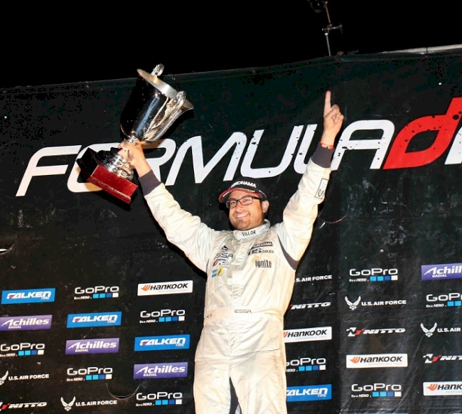 Yokohama Tire Corporation-Sponsored Driver Michael Essa Captures the Formula Drift Title