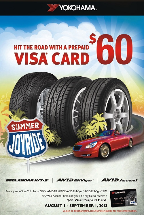 Yokohama Tire Corporation Launches  'Summer Joyride II' Promotion