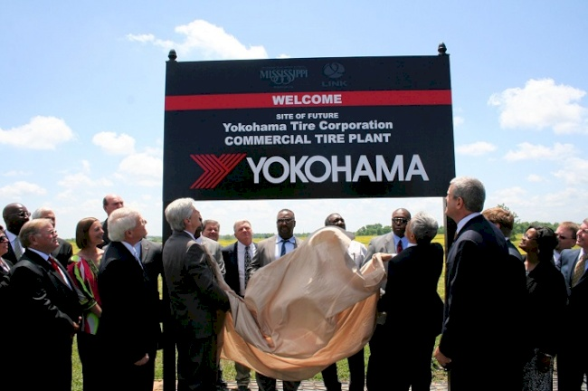 Yokohama Tire Corporation Announces Selection of Design Firm for Its New Commercial Tire Plant in West Point, MS