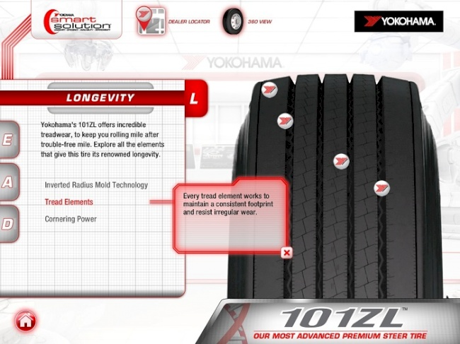 Yokohama Tire Corporation Releases New Version of iPad App for the Truck Tire Industry