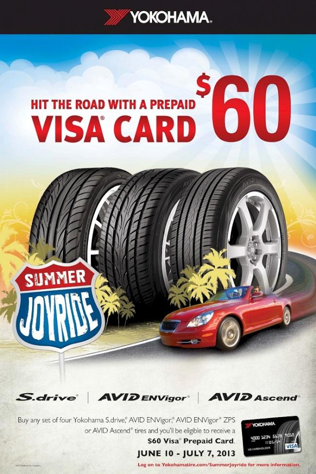 Yokohama Tire Corporation Launches 'Summer Joyride' Promotion