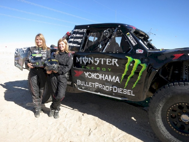 Baja 500 Preview with  Yokohama Tire Corporation's Off-Road Racing Teammates  Heidi Steele and Jessica McMillin