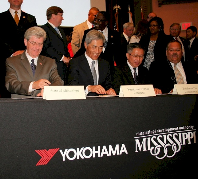 Yokohama Tire Corporation  to Build Commercial Tire Plant in Mississippi