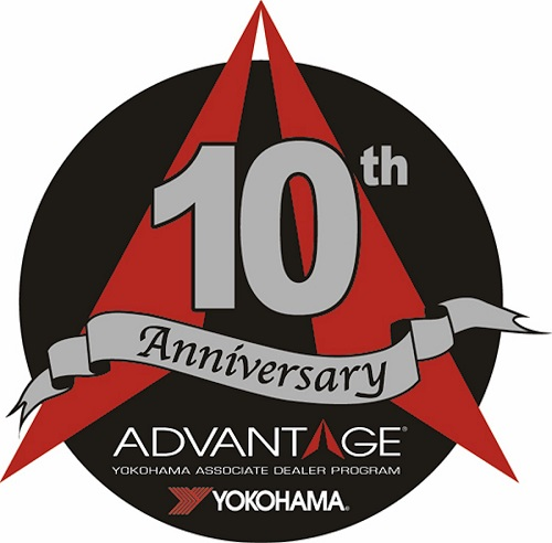 Yokohama Tire Corporation's ADVANTAGE<sup>®</sup> Associate Dealer Program Celebrates its 10-Year Anniversary