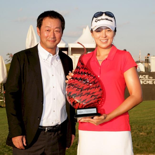 Mi Jung Hur wins the inaugural Yokohama Tire LPGA Classic