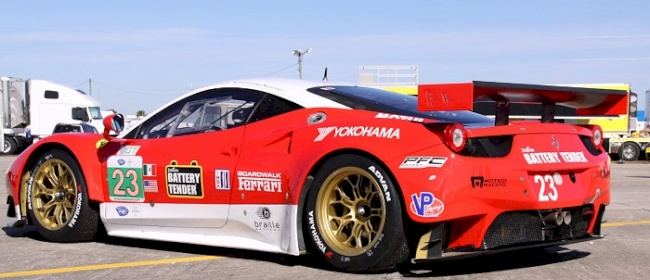 Yokohama Tire-Shod Ferrari 458  Ready for Sebring Debut