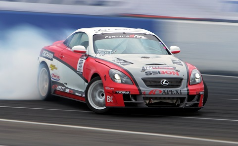 Yokohama Tire Corporation Slides into  Action with 2013 Drifting Program