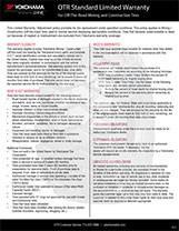 Standard Warranty Bulletin