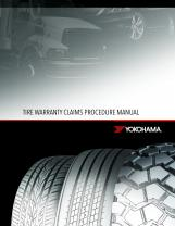 Tire Warranty Claims Procedure Manual